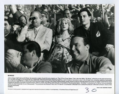 Ed Wood Johnny Depp Sarah Jessica Parker Bill Murray Original Photo ()