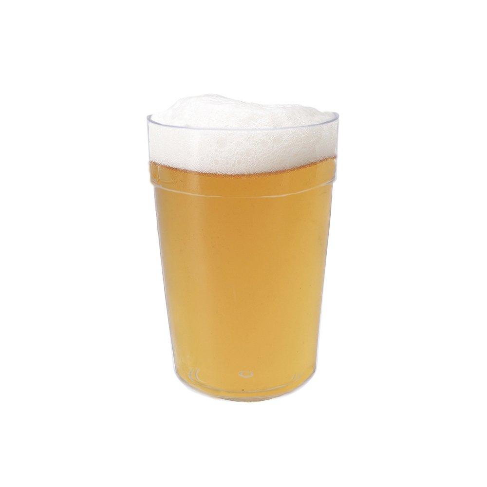 Capacidad 250/ML Color Transparente CARTAFFINI SRL Vaso Cerveza de San Di/ámetro 7,6/cm//H 11,3/cm