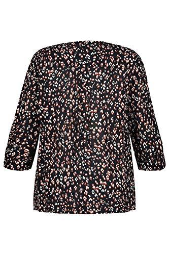 Grandes Blouse Noir Tailles Popken 717651 Femme Ulla ZwpqREOHW