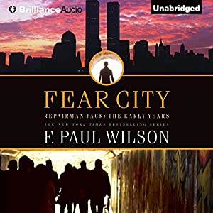 Fear City Audiobook