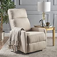 Sophie Tufted Wheat Fabric Power Recliner
