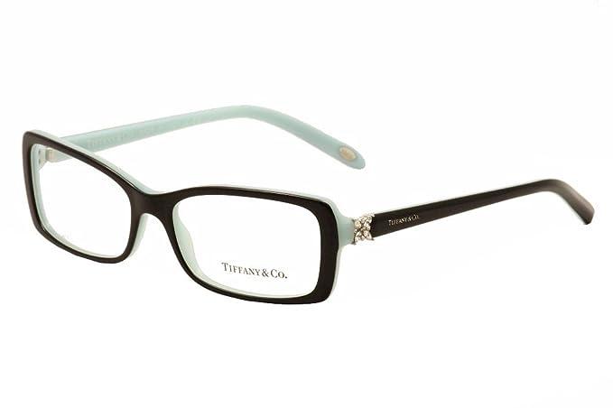 Tiffany & Co. Ladies Eyeglass Frame 2091B Black/Azure 53 mm: Amazon ...