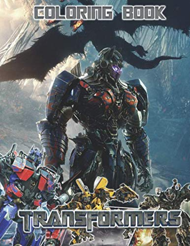TRANSFORMERS Coloring Book: Great Activity Book for Robots Fans -