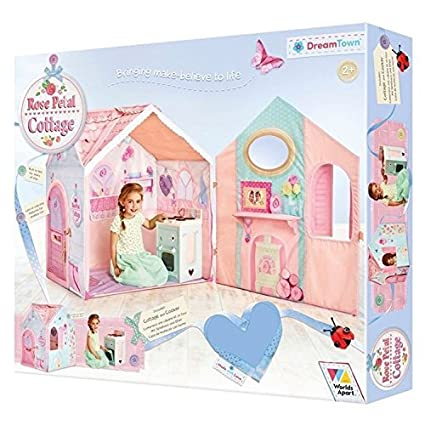 Amazon Dream Town Rose Petal Cottage By Worlds Apart Toys Games