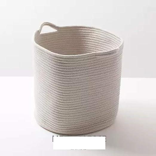 QYSZYG Canasta de Almacenamiento de algodón Cesta de ...