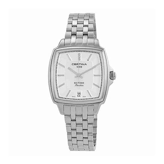 Certina DS Prime C028.310.11.116.00 Reloj de Pulsera para mujeres con diamantes genuinos