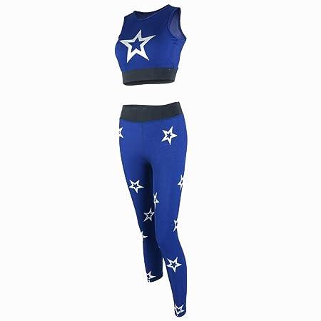 Señoras de Las Mujeres Fitness Chándal Deportes Yoga Entrenamiento ...