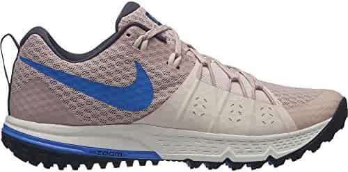 NIKE Women s Air Zoom Wildhorse 4 Running Shoe Particle Beige Signal Blue-Guava  ICE 77e29a168f