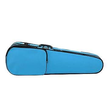 Jxth-mub Estuche de violín Resistente Oxford Tela Azul ...