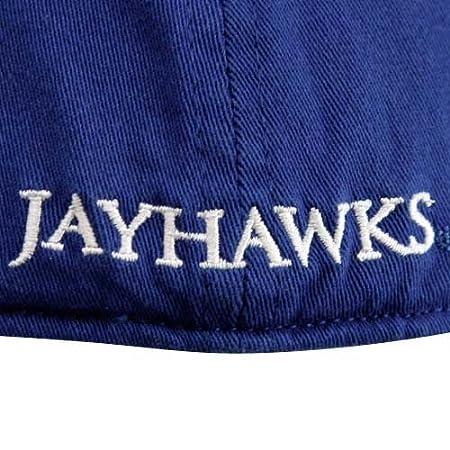 5ad07e9a05c Amazon.com   adidas Kansas Jayhawks Royal Blue Slope Flex Fit Hat   Sports  Fan Baseball Caps   Sports   Outdoors