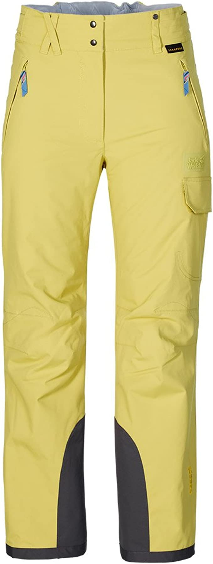 Jack Wolfskin TILDA SKI PANTS golden green: