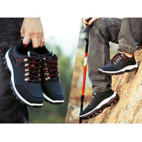 Courir Pour Plein Les Hommes Noir Hommes de Chaussures Air Et 43 Le Chaussures Sport Supshark EU de Loisirs Nouveaux Noir Marée 7q8Zn