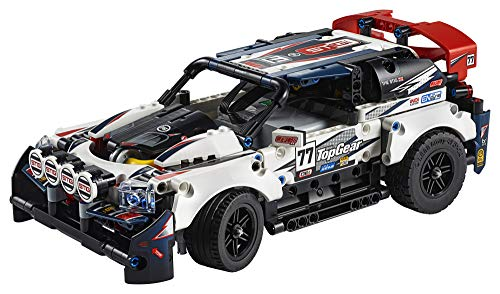 LEGO Technic App-Controlled Top Gear Rally Car 42109 Racing Toy Building Kit (463 Pieces)