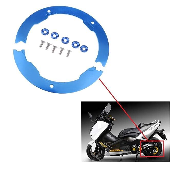 Homyl Juego de Cubierta de Polea de Correa Reemplazo para Yamaha Tmax530 Azul: Amazon.es: Coche y moto