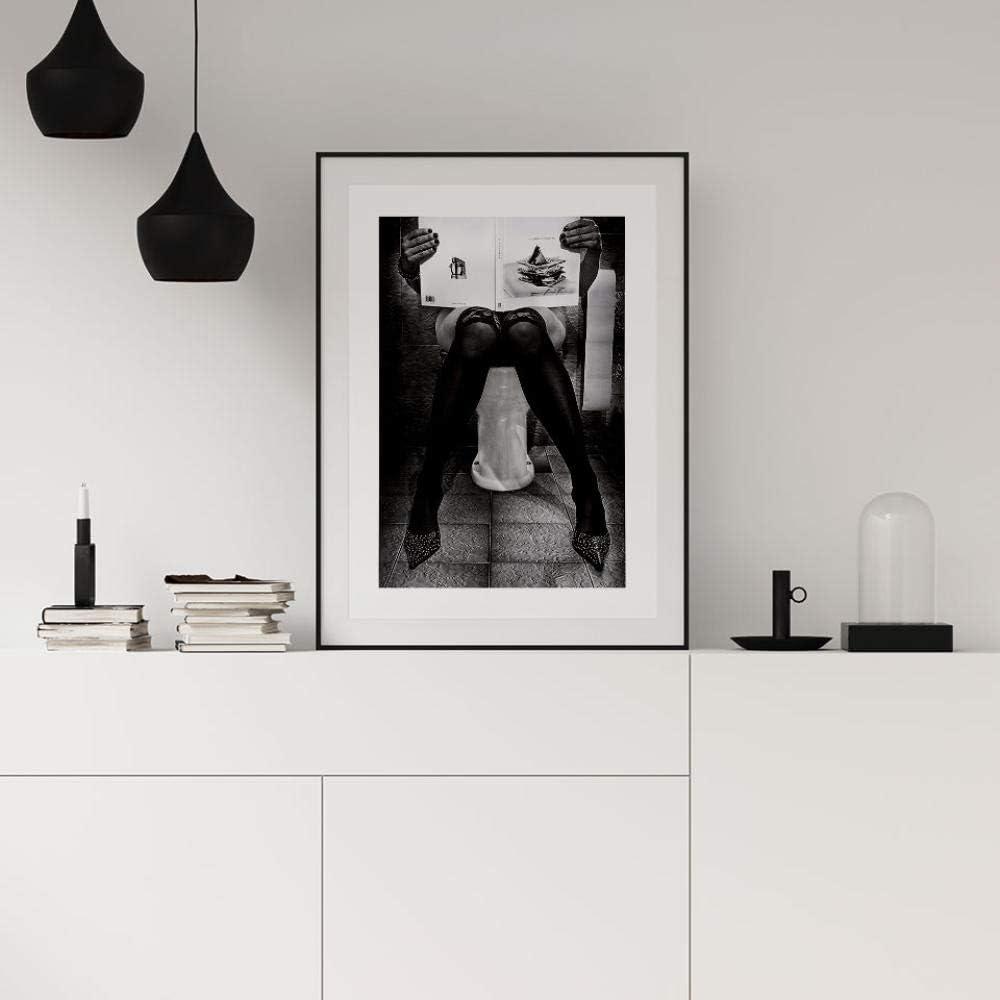 DMPro Catching Up On Reading Poster Nordic Canvas Pittura Fotografia Immagini per pareti per Soggiorno Stampe Decorative Moderne 50X70 cm Senza Cornice