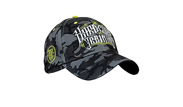 Hardcore Training Cap Camo Grey Gorra para Hombre Sombrero: Amazon ...