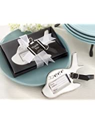 Airplane Luggage Tag in Gift Box with suitcase tag - Set of 50