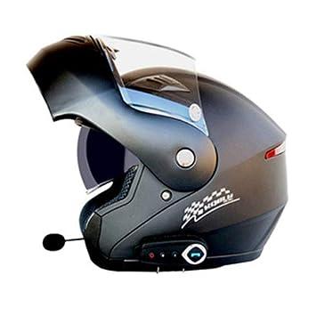 Motocicleta Bluetooth Casco Motocicleta Cara Abierta Cascos D.O.T Seguridad Estándar / Bluetooth Música / Respuesta Automática
