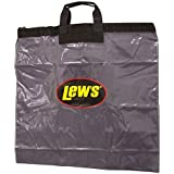 Lews Fishing Tournament Weigh In Bag with Heavy Duty Zipper, Black