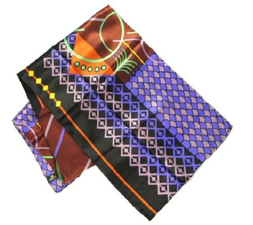 Geometrics in Black - Pangborn Design Scarf 11015 - Pangborn Design Scarf