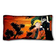 """Generic Personalized ( Anime Naruto ) Zippered Body Pillow Case Cover Size 20""""X36"""" suitable for California King-bed PC-Bluish-29098"""