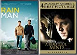 The Mind is a Funny Thing Special Films Collection - Rain Man + A Beautiful Mind 2-DVD Award Winners Bundle