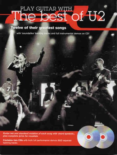 Read Online Play Guitar with U2 (The Best of U2): Guitar TAB, Book & 2 CDs PDF