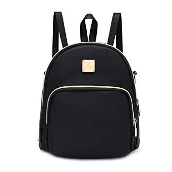 96468c862a01 Naked Fashion Women Girls Students Nylon Small Backpack Rucksack Satchel  School Bags College Book Bag Travel Bags  Amazon.co.uk  Sports   Outdoors