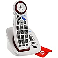 Clarity XLC2+ Severe Hearing Loss Ampified Cordless Phone With Circuit City Microfiber Cleaning Cloth