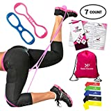 Kara Fitness |2 sets Booty Belt |5 sets Resistance loop Exercise Bands |Pocket Workout Guide |Carry Bag |The Booty Belt to Build Tone Sculpt Perfect Brazilian Butt Lift |Exercise Band for Stretching