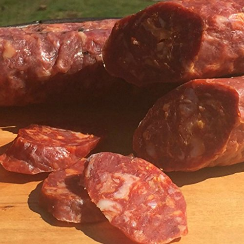 Hot Abruzzese Natural Dry Cured Sausage, Nitrate (Dry Italian Wine)