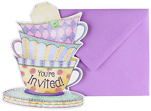Amscan 490140 Supplies Party Invitations, One Size, Multicolor -