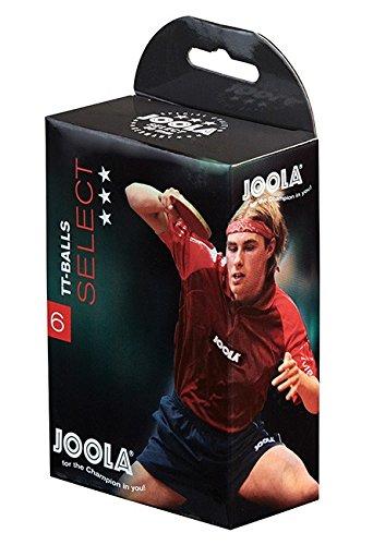 Joola Select 6/Pelotas Color Blanco
