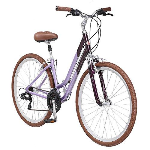 Schwinn Capitol Women's Hybrid Bicycle Lavender 700c Wheel