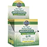 Garden of Life Vegan Green Superfood Powder - Raw Organic Perfect Whole Food Dietary Supplement, Original, 15 CNT Tray