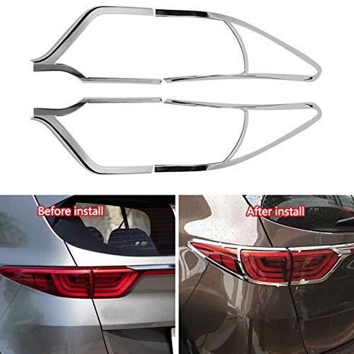 TOOGOO 4 St/üCke Auto R/üCk Licht Lampe Dekoration Abdeckung Trim f/ür Sportage KX5 QL 2015 2016 2017 2018 Auto Styling