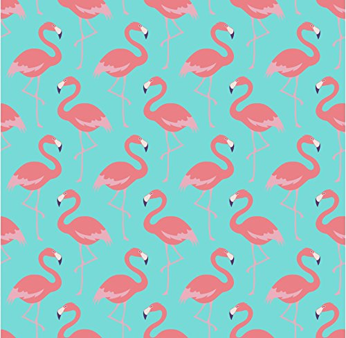 5x7ft Pink Flamingos Pattern Wall backdrop High-grade Pictorial cloth Computer print party photography studio background CST1105