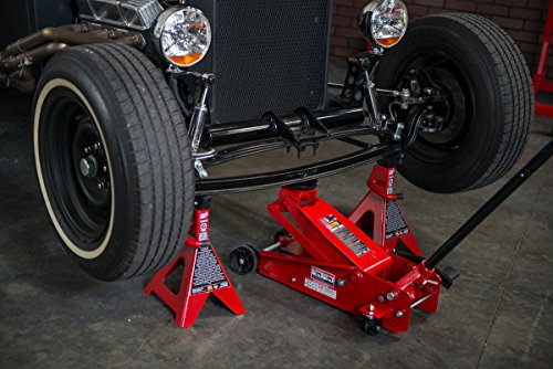 Torin Big Red Steel Jack Stand: 6 Ton Capacity, Single Jack by Torin (Image #3)
