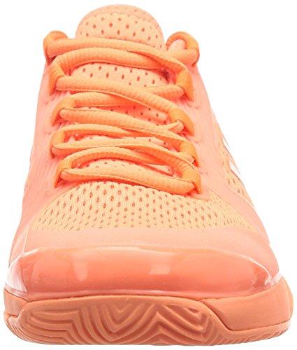 adidas Asmc Barricade 2016, Zapatillas de Tenis para Mujer Naranja (Ultrab / Boxred / Blanco)