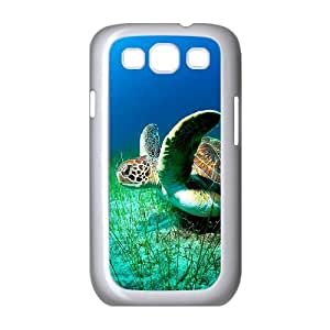 Personalized Hard Protective Phone Case for Samsung Galaxy S3 I9300 Cover Case - Sea Turtle HX-MI-007799
