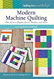 Modern Machine Quilting - Free Motion Stipples, Swirls, Feathers, and More