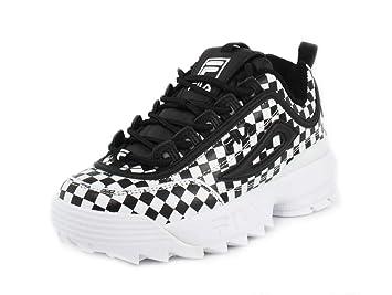 b64d60863a3d Fila Disruptor Il Checker Womens Style   5FM00601-013 Size   10