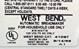 Replacement Kneading Blade / Paddle for West Bend