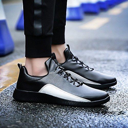 Black Colours Autumn and Size UK9 Tide Feifei Movement CN44 Men's Shoes EU43 Leisure Shoes 2 Spring Color WqUTv7