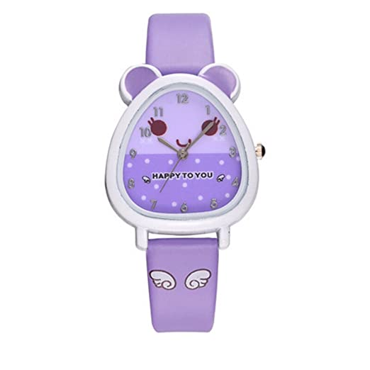 Kanpola Niño Smartwatch Fashion Relojes, Lovely Animal Design Boy Girl Children Quartz Watch Kids Birthday