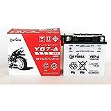 ジャパン GSユアサ バッテリー YB7-A (GY) 12Vバイク用 開放式 液入り 充電済み バッテリー 【BSMオリジナル】
