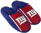 New York Giants NFL Mens Jersey Slide Slipper Adult Sizes