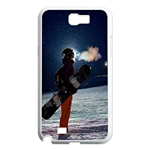 Extreme Sports Skiing Skateboard Baseball Phone Case Cover for Samsung Galaxy Note 2 N7100 case TSL129575