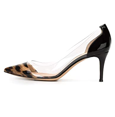 Amazon.com: Sammitop - Zapatos de vestir para mujer, 2.6 in ...