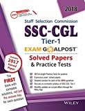 Wiley's SSC - CGL, Tier - 1, Exam Goalpost, Solved Papers & Practice Tests, 2018